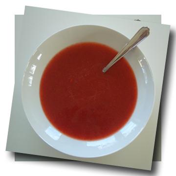 jordgubbssoppa
