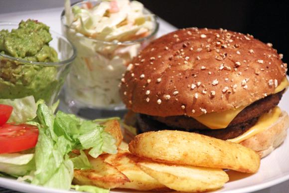hamburgertallrik